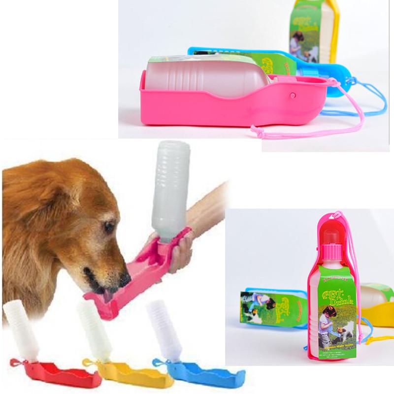 New 2015 Portable Foldable Plastic Feeding Bowl Dog Cat