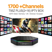 Buy T95Zplus Android 6.0 TV Set Top Box S912 Octa Core 1700 Europe Arabic UK IPTV VIP Subscription Channels WIFI H265 Media Player for $76.89 in AliExpress store