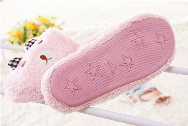Korean House Home Slippers Women Men Plush Warm Shoes Indoor funny Cute Slippers chaussons Pantufa femme zapatillas casa mujer