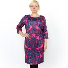 BFDADI 2016 женские весна платья старинное цветочное принт женское платье осень женские свободного покроя офис платья Большой размер платья 3687 - 17(China (Mainland))