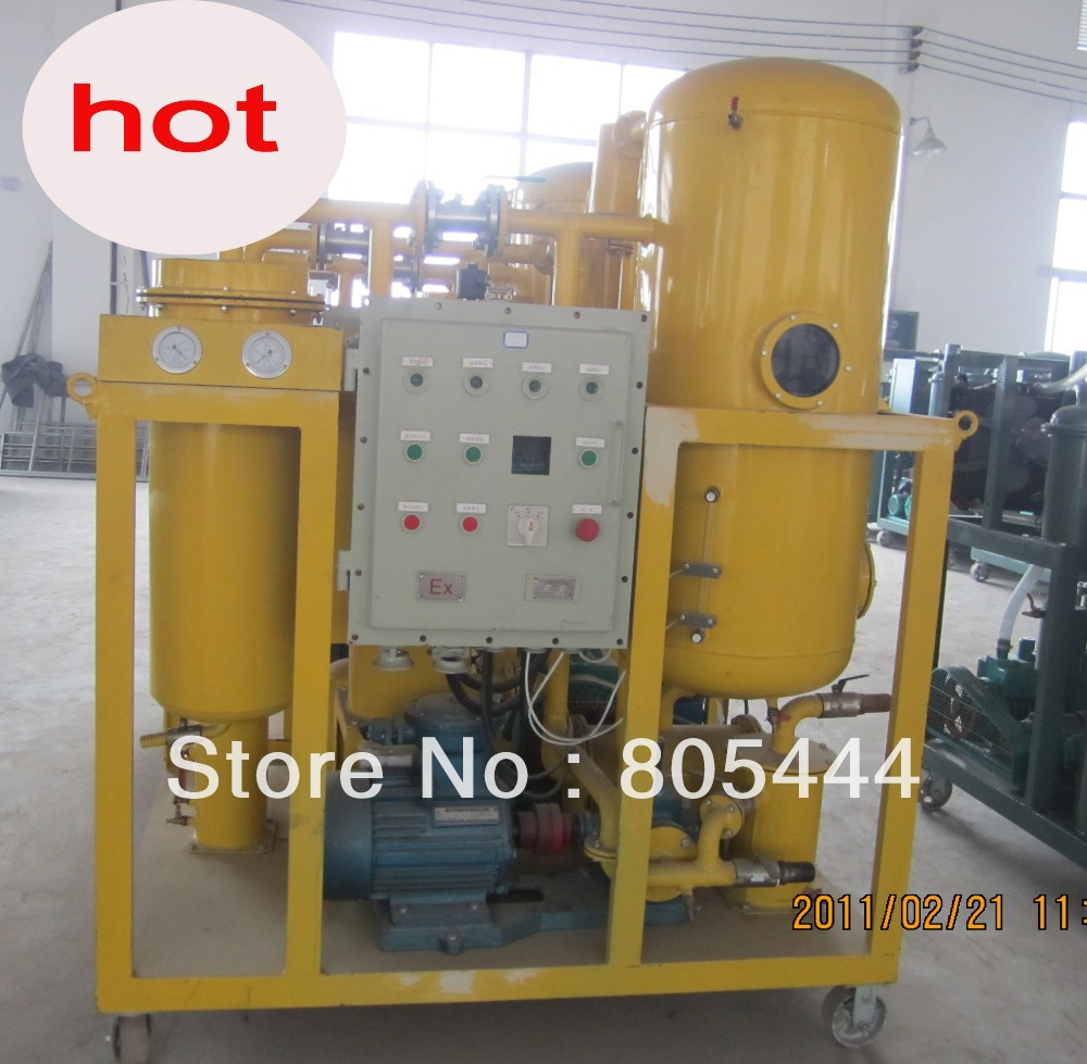 Explosion-Proof Turbine Oil Filtering Set,Gas Turbine Oil Purifier Machine(China (Mainland))