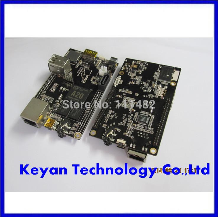 Raspberry Pi cubieboard A20 Enhanced Version Mini PC Cubieboard 1GB ARM Development Board Cortex-A8 A20 Dropshipping(China (Mainland))