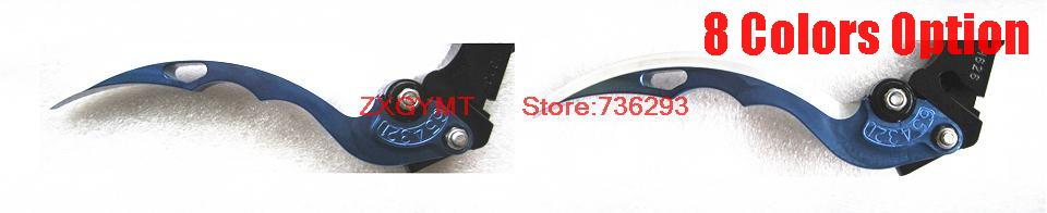 high saber shape Motorcycle Clutch Lever fit Kawasaki Zx 600 N Zx600n 2005 2006 Brake Lever T6 Aluminum