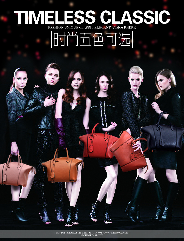 Europe And The Trend Of The Brand New Ladies Leather Header Layer Of
