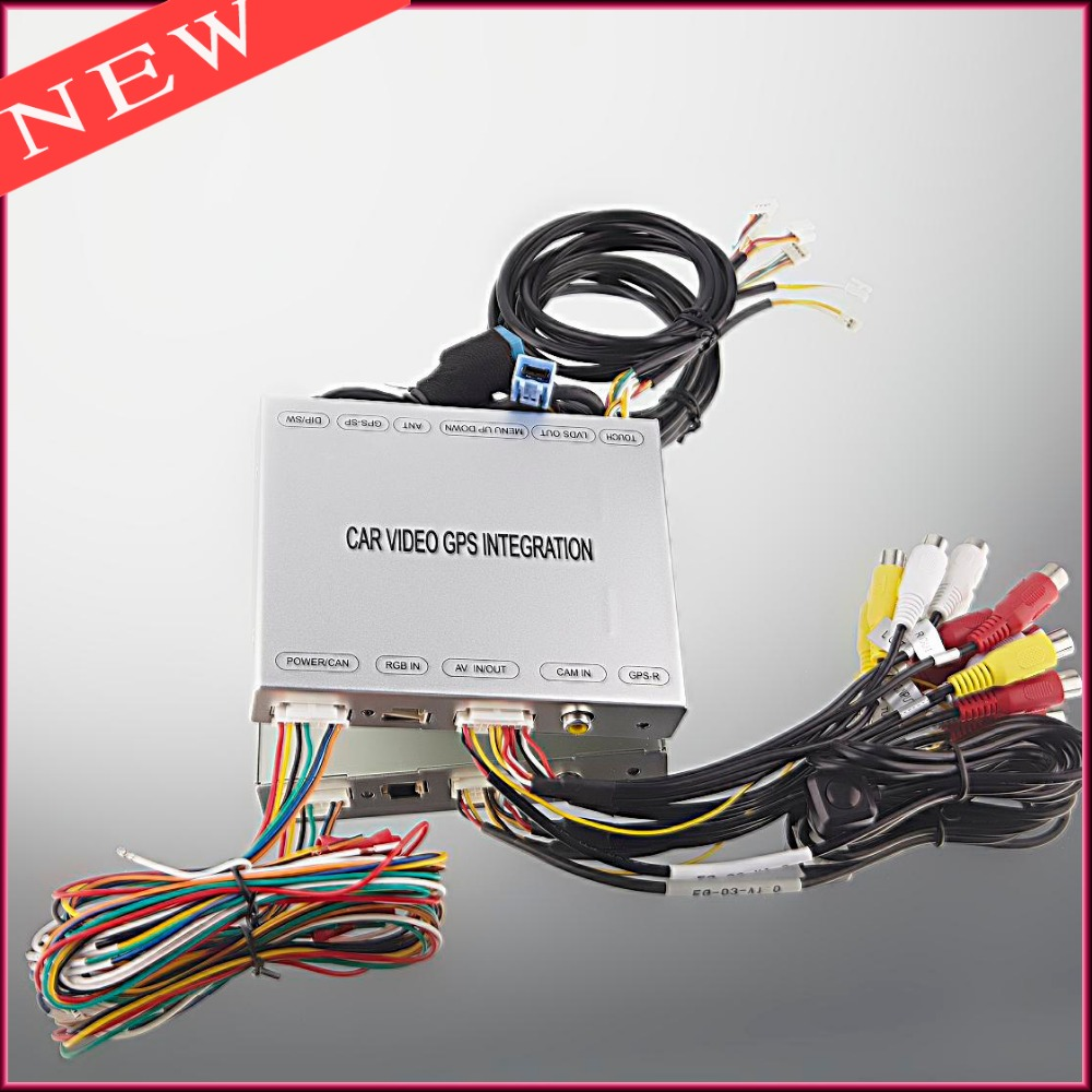 Car Reverse Camera Video Interface For Range Rover 2012 After Evoque Jaguar XF XJ Discovery 4(China (Mainland))