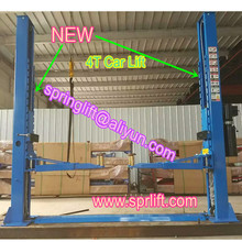 2016 New Style 4 ton Outer lock double 2 column car lift 4 ton clear floor two column car jack SP-C4000(China (Mainland))