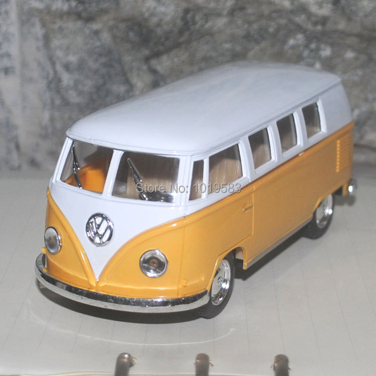 Brand New 1/32 Scale Pull Back Car Toys Classic Volkswagen Classical Bus(1962) Diecast Metal Car Model Toy For Gift/Kids(China (Mainland))