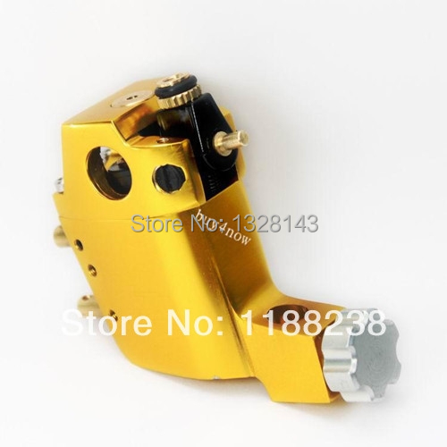 Professional Long lasting Stigma Hyper Rotary Tattoo Machine for Manual Liner Shader and Coloring Yellow<br><br>Aliexpress