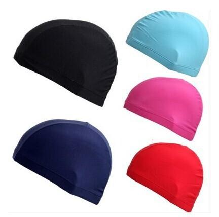 2015 hot sale women men Adult ventilate swimming cap surf hat Protect Ears Long Hair Sports Swim Pool Shower cap free shipping(China (Mainland))