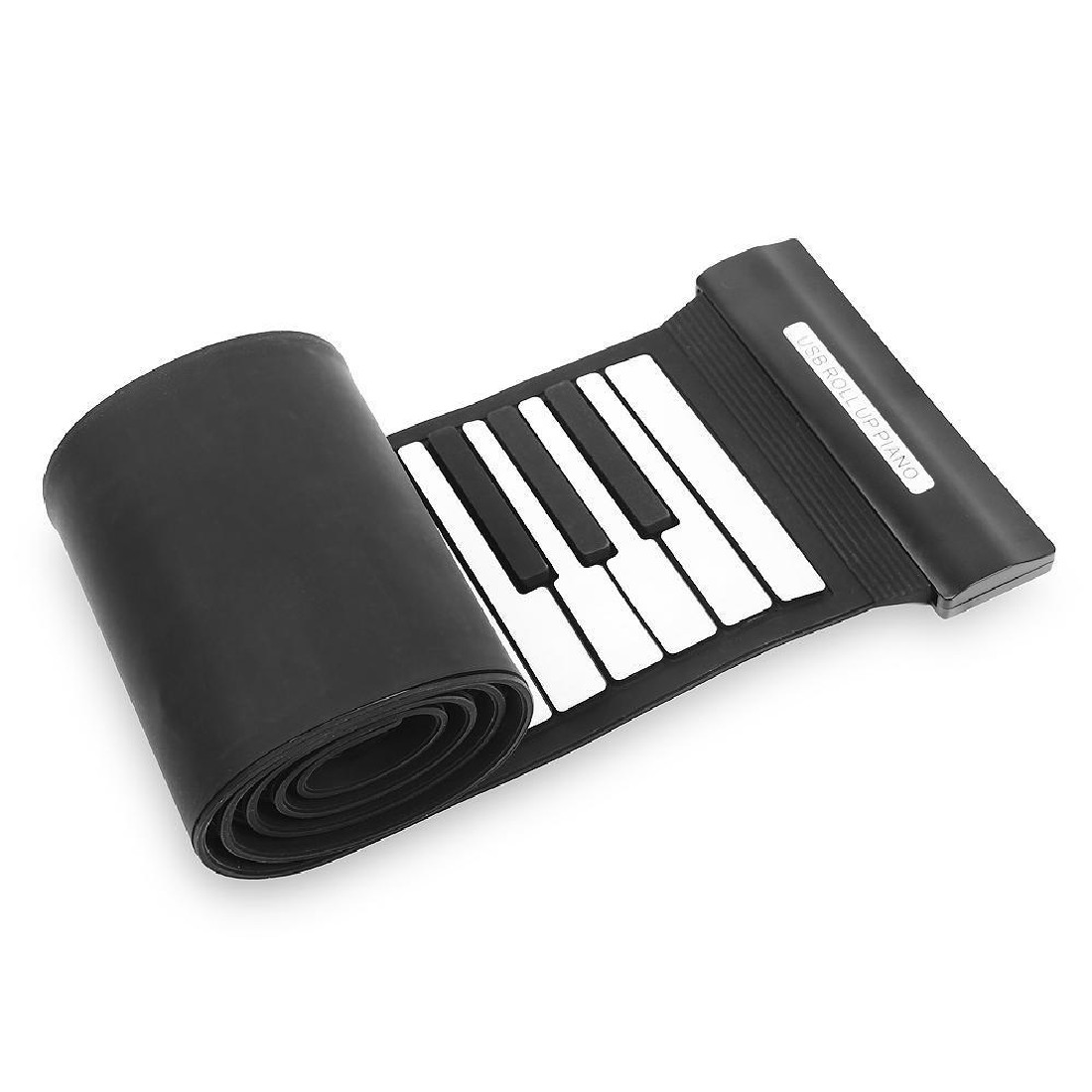 2016 88 Keys Soft Digital Roll-Up Folding 3D Keyboard Piano Electronic Toys Kids Play professional mucical instrument(China (Mainland))