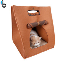 Removable Warm Pet Bed Dog Carrier Dog Cat House Cave Pet Cushion Outdoor(China (Mainland))