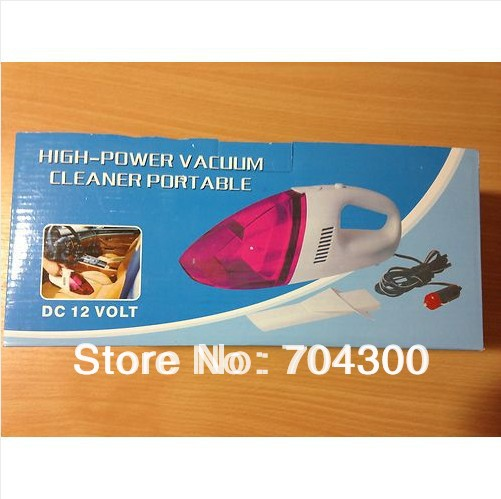 Portable Handheld Wet & Dry Mini Caravan, Car, Truck Vacuum Hoover Cleaner 12V DC(China (Mainland))