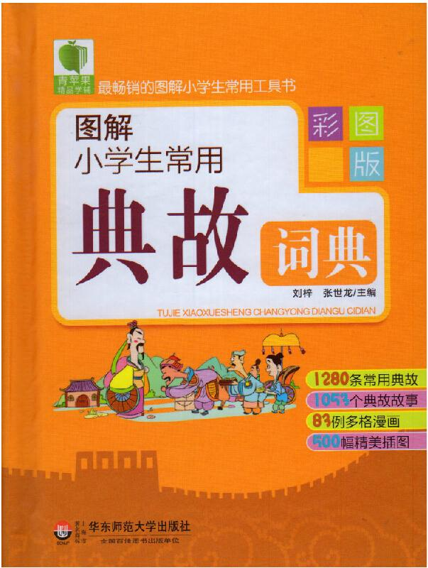 Common allusions dictionary with pinyin,indispensable tool for learning Chinese ,Chinese old idioms dictionary learning hanzi(China (Mainland))
