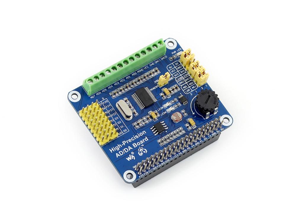 Raspberry Pi high accuracy AD / DA module ADS1256 DAC8552<br><br>Aliexpress