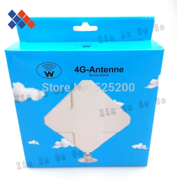 New high gain 4G 35DB antenna 2*TS9 connector for HUAWEI ZTE 4G Router/Modem antenna free shipping(China (Mainland))