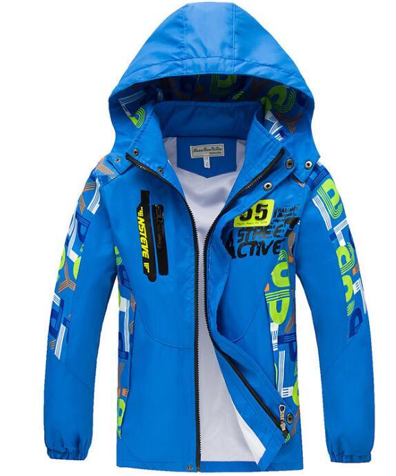 Kids jackets Boys winter coats for kids Children Outerwear Sport Jacket Boy Football Outerwear & Coats cheap kids clothes online(China (Mainland))
