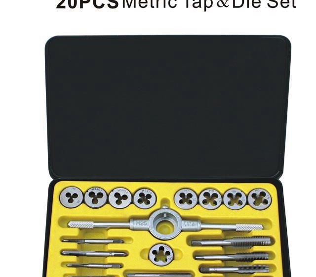 Piece tin metric tap die group sets attack Banya silk attack Wrench 12 20 40<br><br>Aliexpress