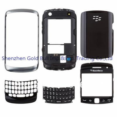 Для BlackBerry Кривой 9360 новой для вас полный снабжение жилищем мобильного телефона Чехол+Клавиатура +бесплатные инструменты,