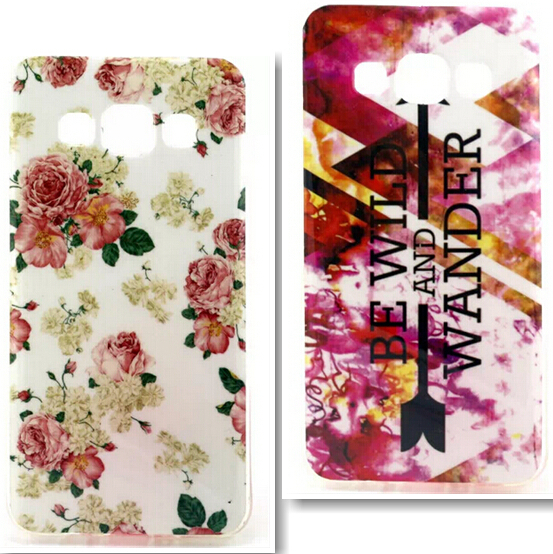Luxury TPU Case Soft Cover Samsung Galaxy A3 A3000 A300 Fashion Printing Cases Back - Shen Zhen Kingma Electronic Co., Ltd store