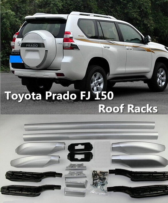 SUV car Roof Racks/Luggage rack/Roof Racks & Boxes Modification Accessories Fit For For Toyota Prado FJ 150 10 11 12 13 14(China (Mainland))