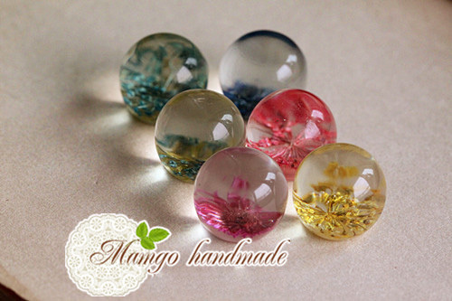 Resin Jewellery Pendant 10pcs 18mm Resin Pendant