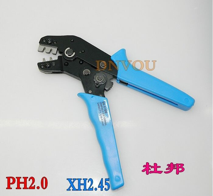 SN-01BM XH2.54 SM plug terminal spring clamp terminals Crimping Tool Crimping pliers For D-SUB Terminals Sq.mm 0.08-0.5 AWG28-22(China (Mainland))