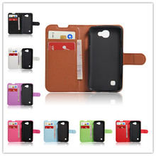 "Buy LG K4 Case Wallet Leather Case Cover LG K4 Lte K120e K130e 4.5"" K 4 Flip Protective Shell Back Cover Card Slots for $6.90 in AliExpress store"
