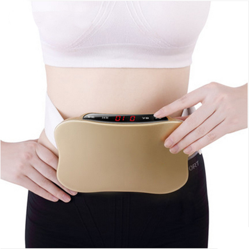 Rechargeable women waist slimming belt belly.Electric back shoulder buttock vibration anti cellulite massager.Fat burner machine(China (Mainland))