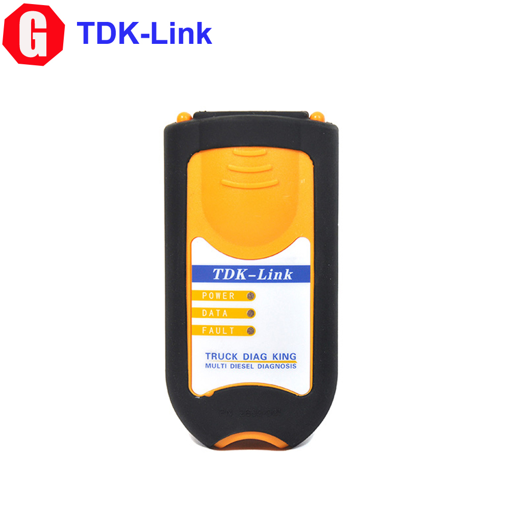 DHL EMS Free Truck Diag King Multi Diesel Truck Diagnostic Interface TDK USB Link Scanner Better Than NEXIQ 12305(China (Mainland))