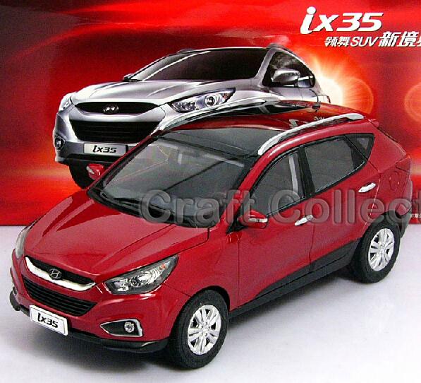 Hyundai Red IX35 1:18 New Tucson Diecast Cars Model Building Vehicle Classic toys Miniature Craft(China (Mainland))