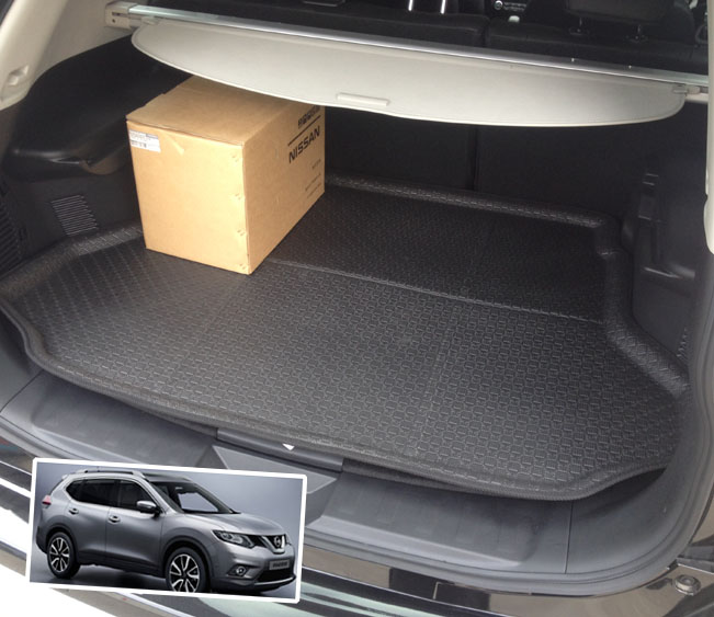 1 Piece Rear Floor Mats