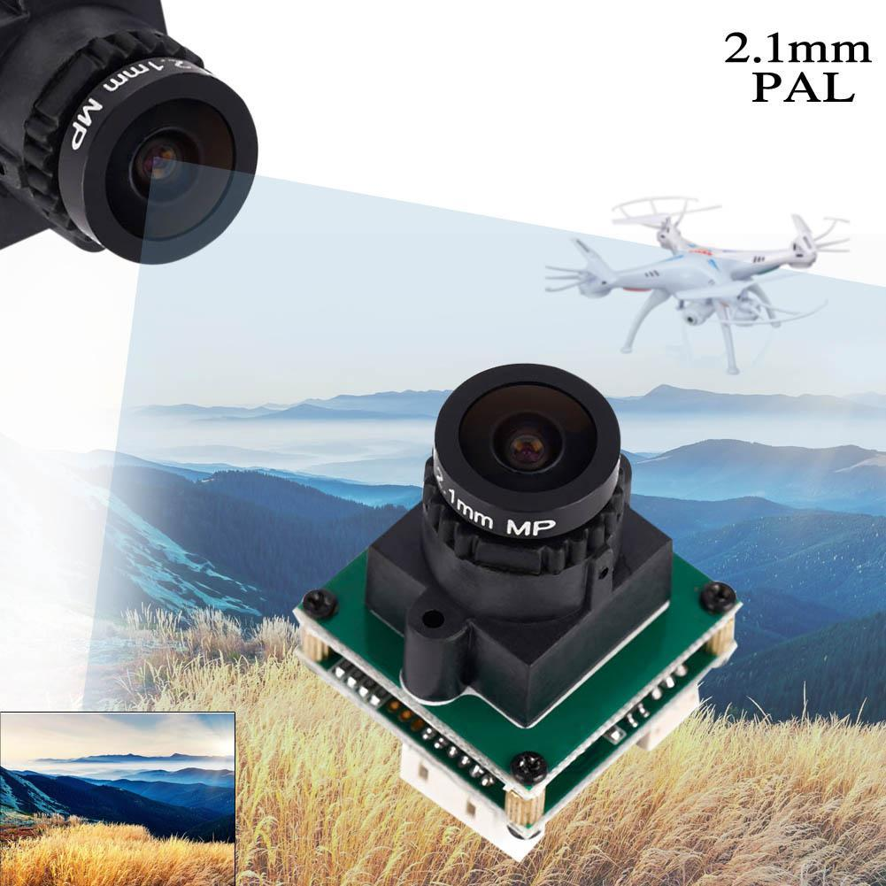 HD 700 TVL lines CCD Video Camera w/ 2.1mm Lens PAL FOR SONY 673 FPV Drones A190(China (Mainland))