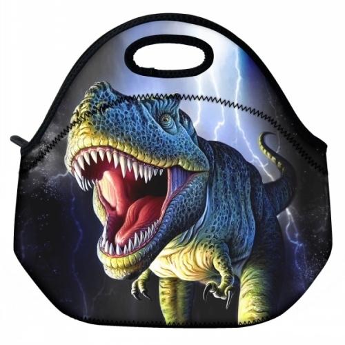 Новый 3D Печать Мягкий неопрен тепловая сумка Водонепроницаемый изолированные обед ...