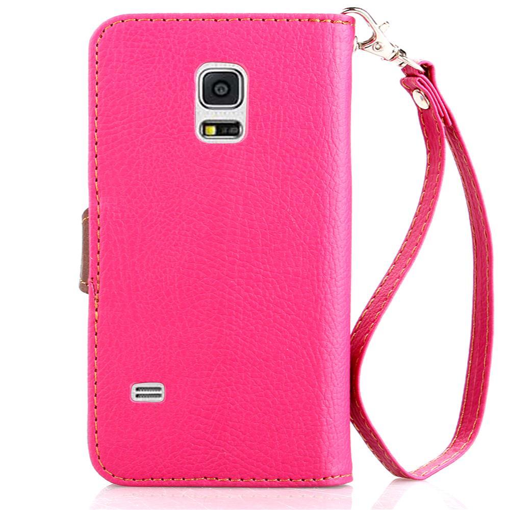 Cover For Samsung Galaxy S5 Mini Case Soft Silicone & Flip Leather Case For Samsung S5 Mini G800F Fundas Card Slot Phone Bag