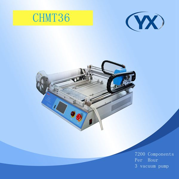 Pick and Place Machine CHMT36 For SMT Equipment Surface Mount System With SMD Components Supplier LED Light Assembly Line(China (Mainland))