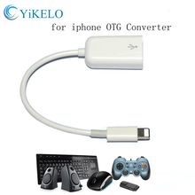 Buy Lightning USB OTG Connector tieline Adapter Data Sync Charging Cable iphone 5 5s 6 6s 7 plus ipad OTG USB Cable charger for $2.16 in AliExpress store