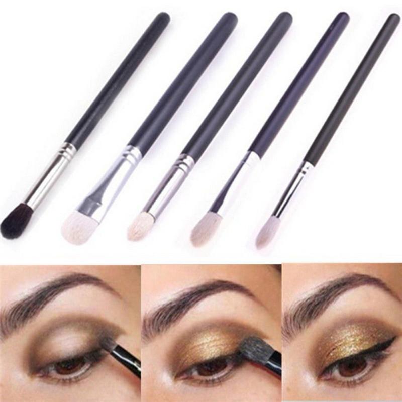 Beauty Blending Eyeshadow Powder Makeup Eye Shader Brush Cosmetic Make Up Tools New MM753 WC23(China (Mainland))