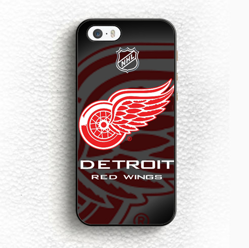 detroit red wings logo Printed Soft Rubber Skin Mobile Phone Cases For iPhone 6 6S Plus 5 5S 5C SE 4 4S Back Shell Case Cover(China (Mainland))