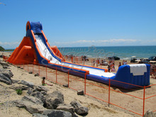 Giant Beach Inflatable Water Slide For Business Rental And Water Park(China (Mainland))