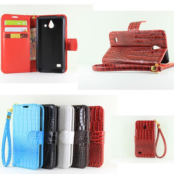 Чехол для для мобильных телефонов Crocodile Leather Case for Huawei Ascend Y550 Huawei Ascend Y550 Huawei Ascend Y550 YDT-Y550-eyuwen
