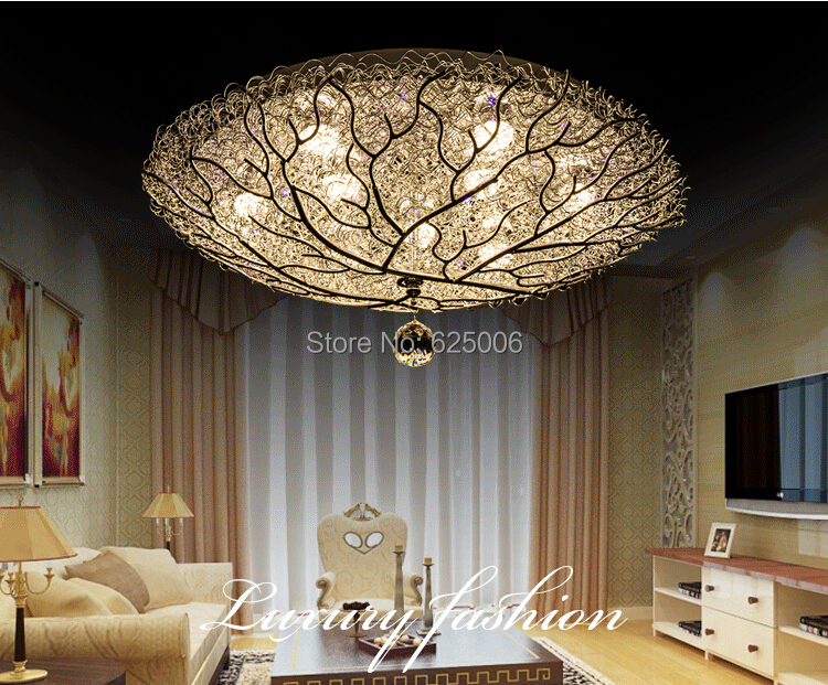 18w 27w bird 39 s nest led ceiling lights aluminum children for Bedroom ceiling lights