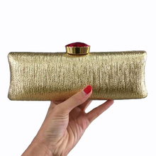 Luxury Evening Clutch Bags Crystal Diamond Hasp Clutch Bags Famous Brand Designer Women Clutches Gold Party Hand Wallet XA348H