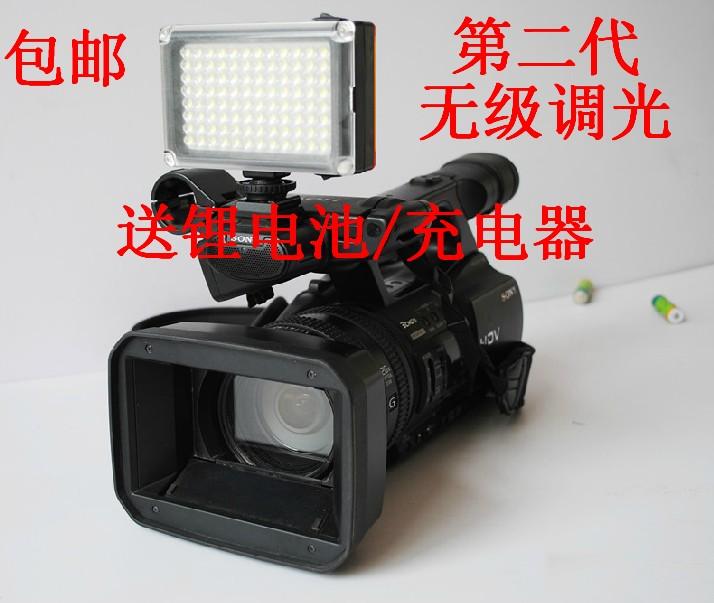 Фотография Dv camera slr ft - 96 bulb led video light lights up battery charger