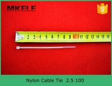 Ce, Ul, Rohs нейлоновый трос галстуки MKCT 2.5 * 100 мм 100 шт. / сумка