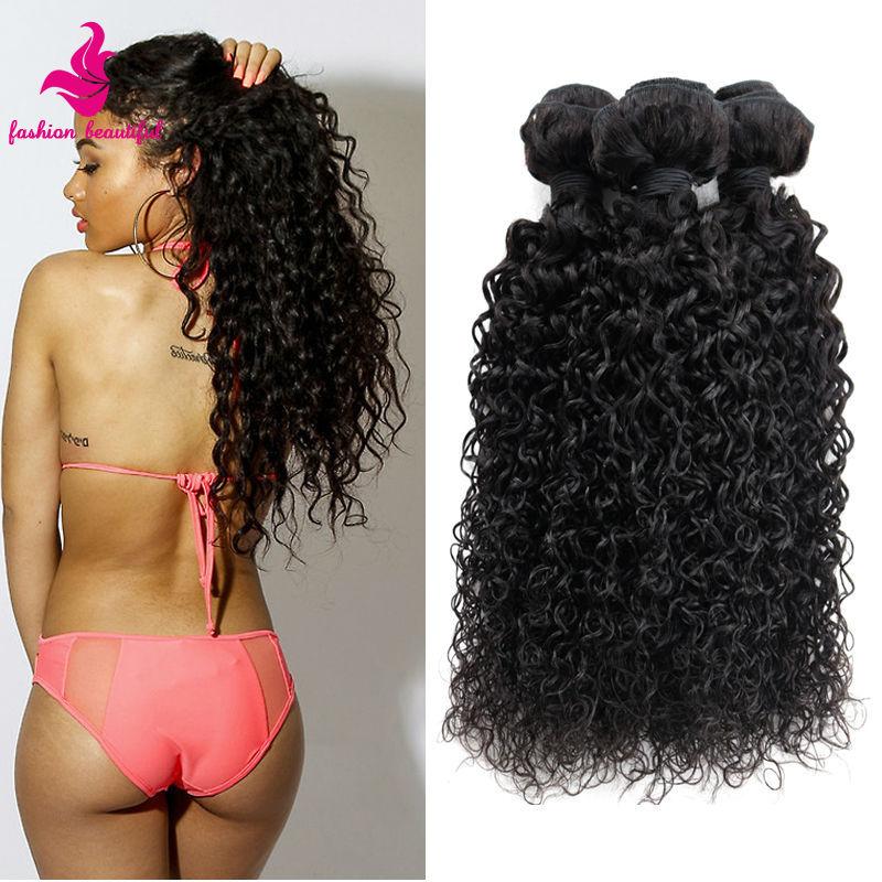 Unprocessed Virgin Malaysian Hair Kinky Curly Grade 6A Human Hair Extension Kinky Curly Virgin Hair 4Pcs Lot Natural Black Hair<br><br>Aliexpress