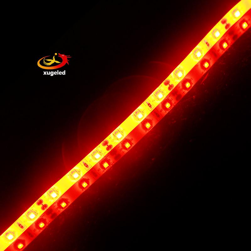 NO 5M 3528 orange Color Waterproof SMD LED Flexible Strip DC12v 1M 60leds+Freeshipping(China (Mainland))