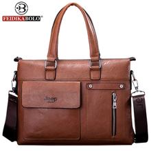 NEW Famous Designer Jeep Famous Brands Men Business Briefcase Leather Shoulder Bags For 14 Inch Laptop Bag big Travel Handbags(China (Mainland))