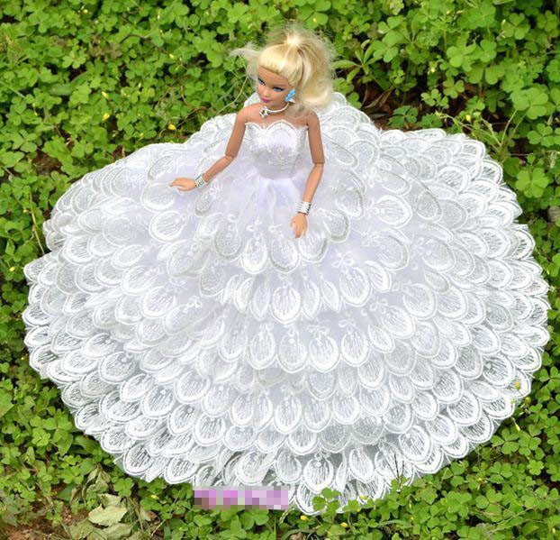 Many kinds for select Competition Presents For Women Present Doll Equipment Night Swimsuit Marriage ceremony Gown Garments For Barbie 1:6  Doll