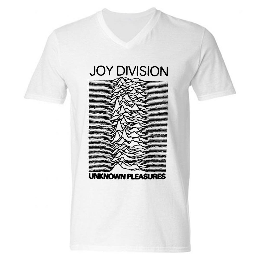 Fashion new joy division men t shirts cotton v neck short for Bulk mens dress shirts