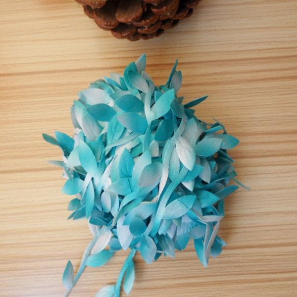2m Artificial Green Flower Silk Leaves Rattan DIY Garland Accessory For Home Wedding Decoration Artificial Scrapbooking Flower